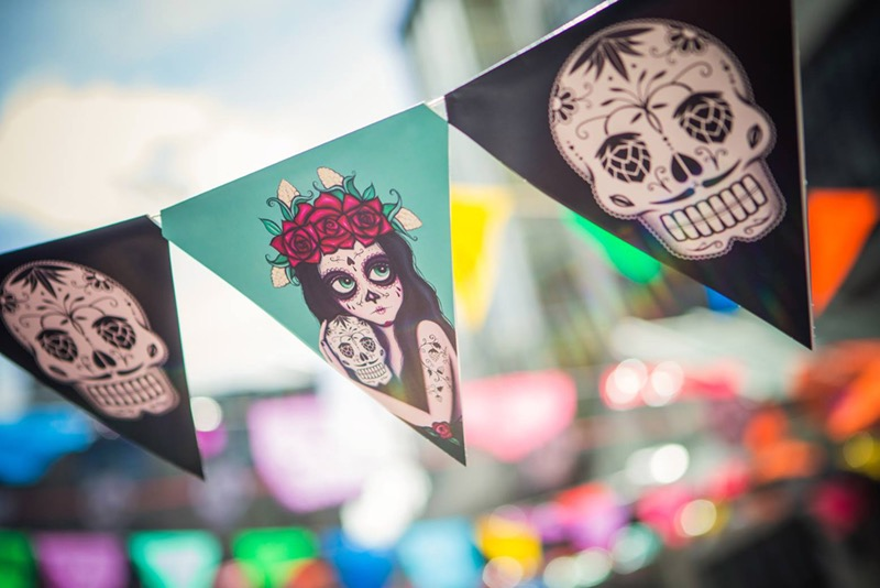 Garage Projects Day of the Dead Bunting