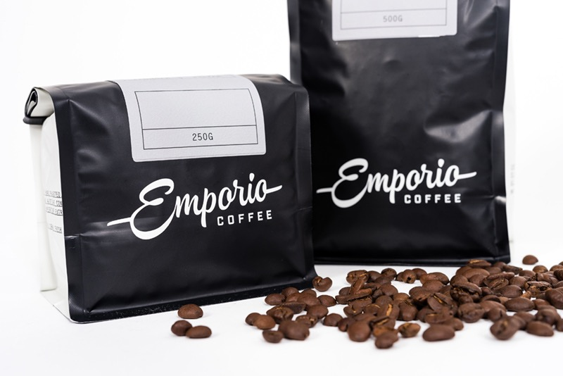Label Design & Print for Emporio Coffee