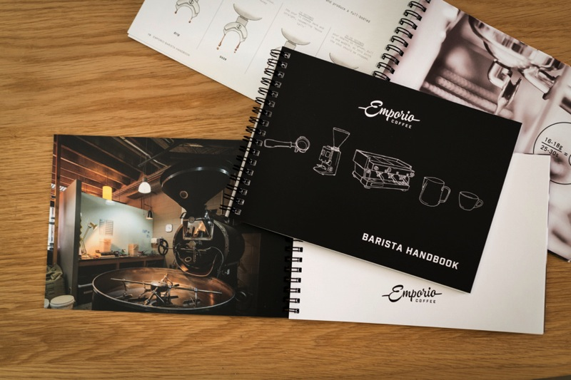 Brand Rollout & Print for Emporio Coffee