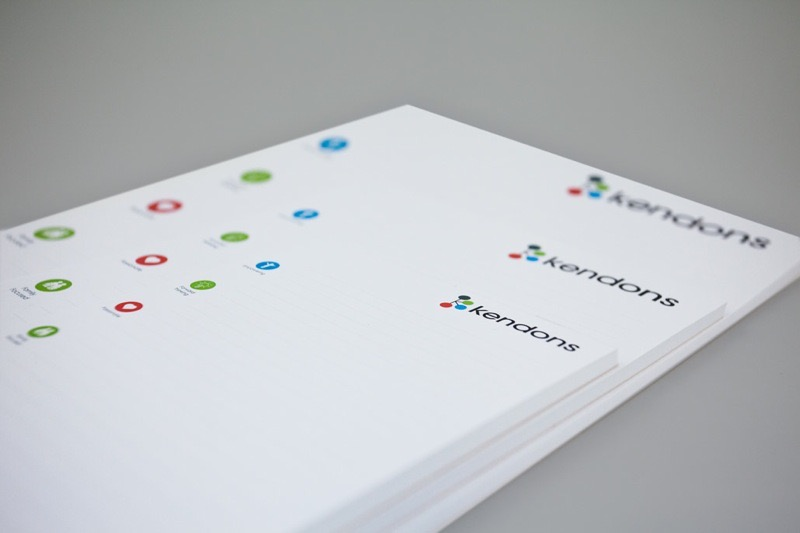 Printing Kendons Corporate Stationery