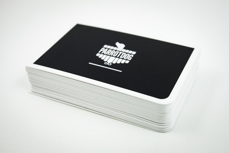 Parrot Dog business cards printing