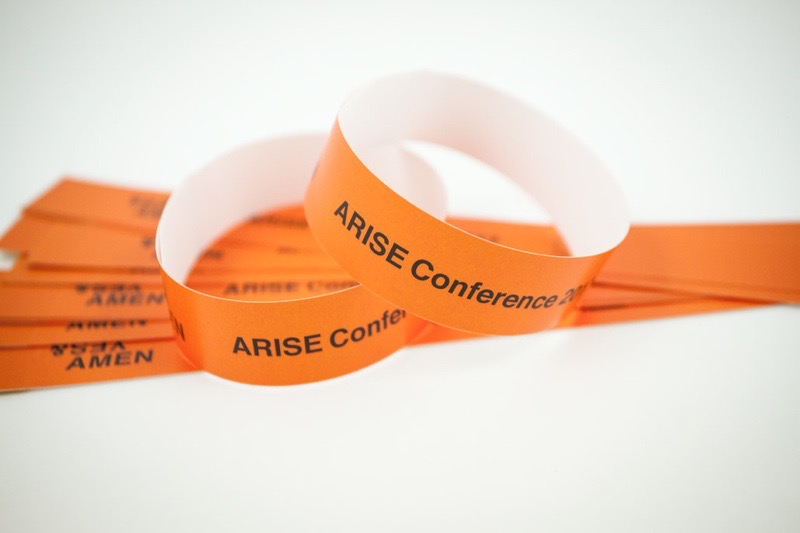 Producing Wristbands for Arise