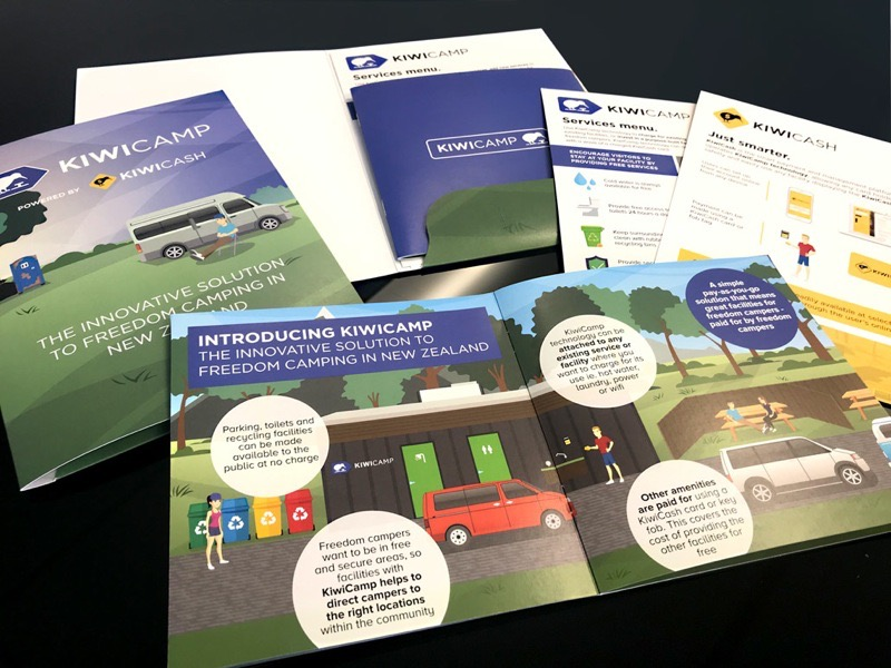 Kiwicamp Collateral for Phillips & Phillips