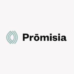 For Promisia we've printed A3 and A2 posters, pull-up banners, vinyl labels and flyers.
