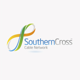 For Wellington's Southern Cross Cable Network we print business cards and stickers.